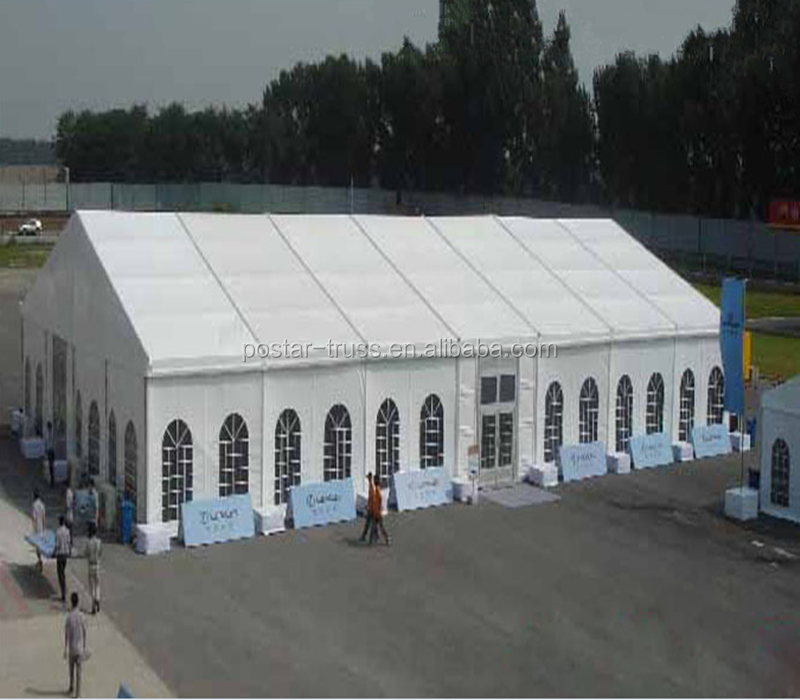 Easy installed PVC coated aluminum frame 30x50 wedding Tent for 200 people