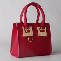 2015 new Korean fashion PU leather handbags embossed handbag
