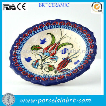 Round Porcelain Turkish Decorative Plates  sc 1 st  Alibaba & Round Porcelain Turkish Decorative Plates - Buy Porcelain Turkish ...