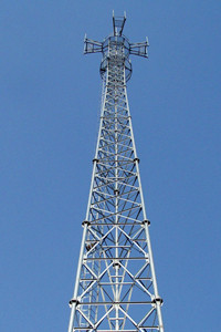 25m GSM Antenna Telecommunication Tower