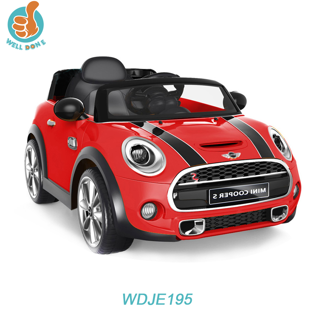 WDJE195 Licensed CE BMW Car New Model 6V 12V Optional Big Kids Ride On Car, With MP3 Player And Music, Fashion Toy Car