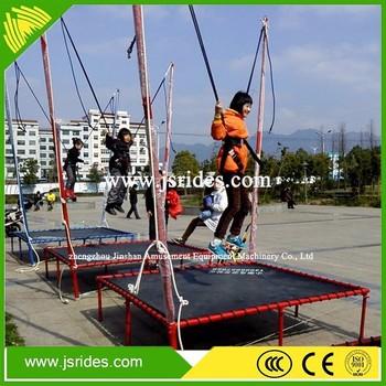 Emocionantes Juegos Al Aire Libre Equipos Bungee Trampolin Para