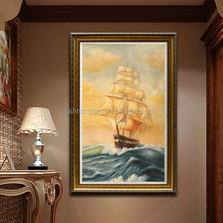 painting tarpaulin canvas printing for canvas oil painting boats