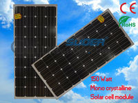 China 150W 18V High Efficiency Monocrystalline Silicon Flexible Solar Energy Cell Panel