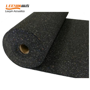 400 kg/m3 density 2mm rubber soundproof underlay