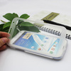 Flip Matt TPU case with touch screen protector cover for samsung Galaxy Note 2 N700