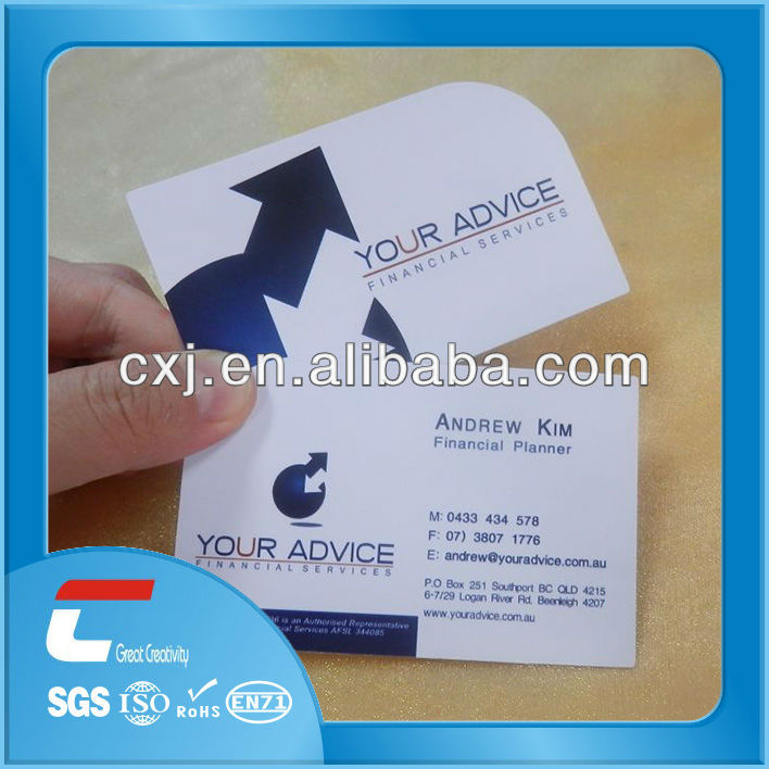 Cute Thin Plastic Business Cards Photos - Business Card Ideas ...