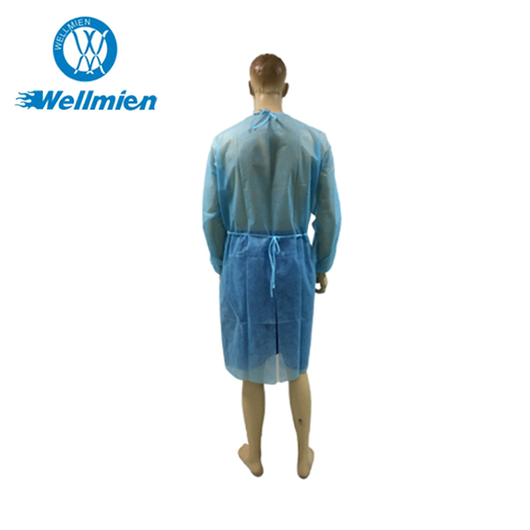 Best choice for disposable plastic isolation gown