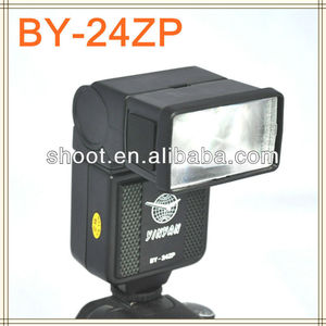 New led flash unit BY-24ZP Flash Speedlight for Canon Nikon Pentax Olympus