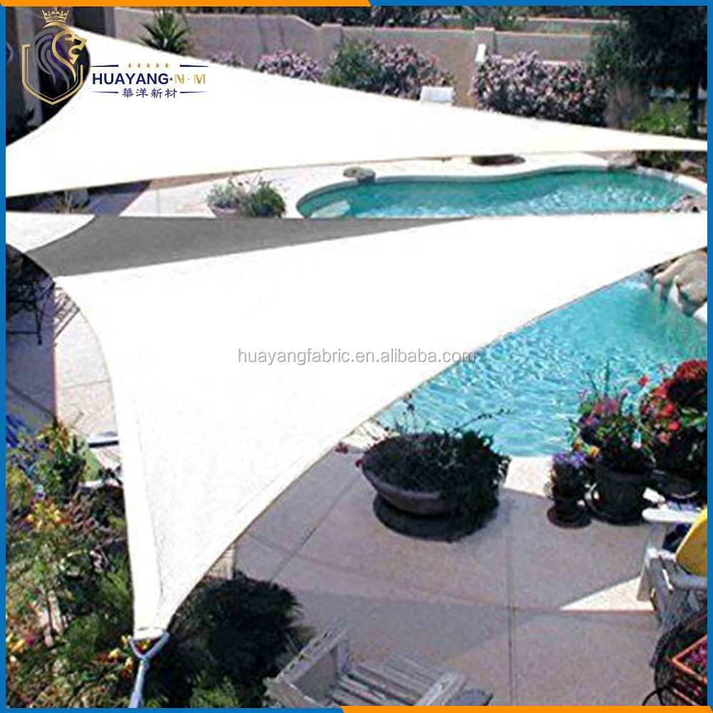 poolside shade structure, privacy shade sail for swimming pool