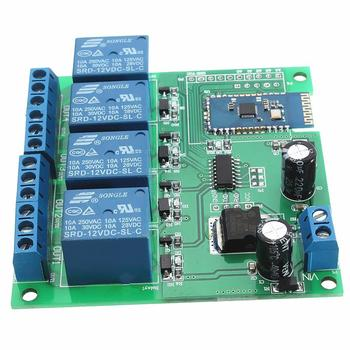 DC 12V 4 Channel Relay Module Bluetooth Wireless Control Switch