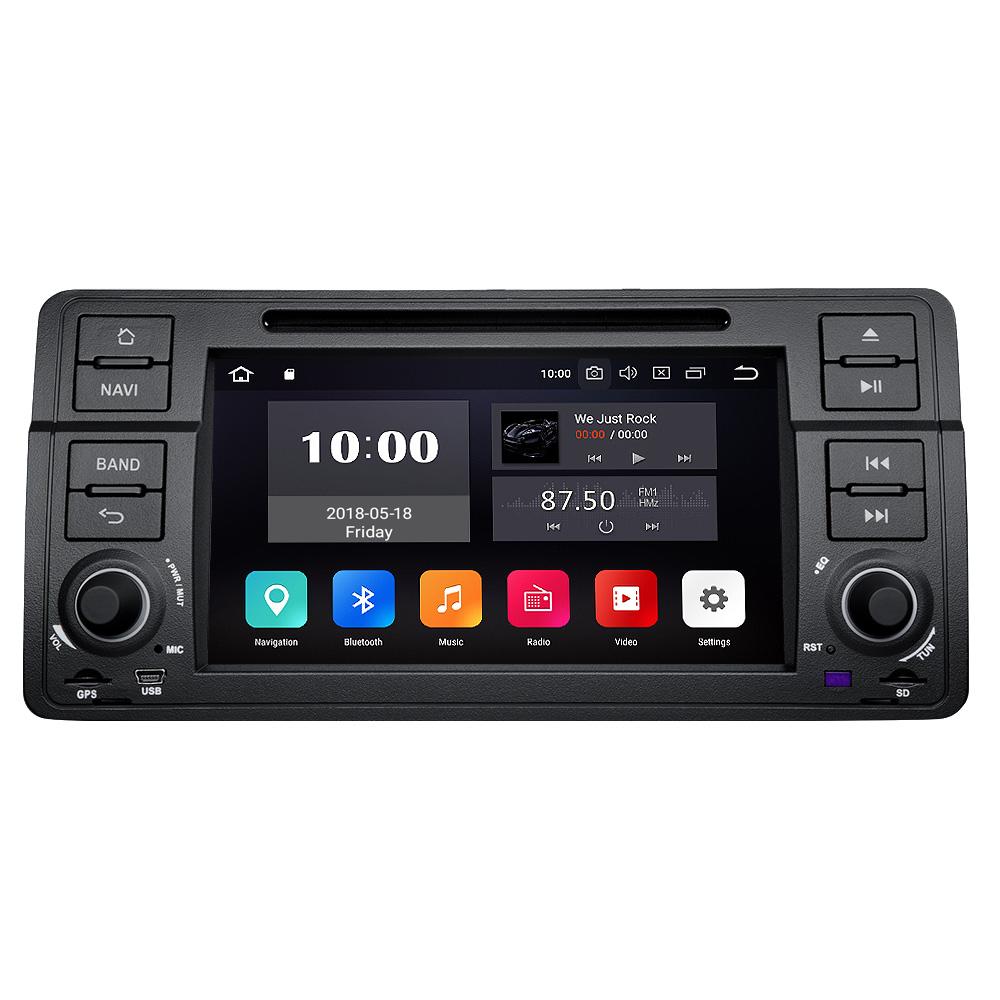 "US GA2172 Double Din 7/"" Android 7.1 Car Stereo GPS Navi Radio Bluetooth 1024*600"
