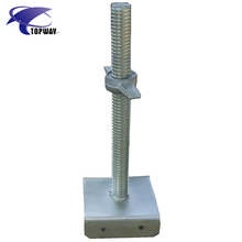 Scaffolding Jack System Adjustable Screw Jack U Head Base Plate