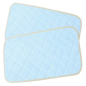 Waterproof Baby Changing Pad with Quilted Bamboo Terry Fabric for Hypoallergenic