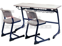 School Furniture/Double Desk and Chair/Hot Sale India Market School Desk and Chair