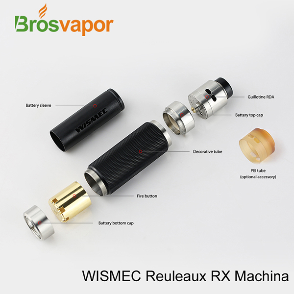 Reuleaux RX Machina Kit with Guillotine RDA