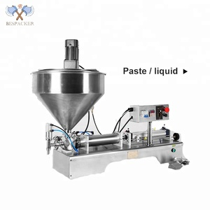 G2WTD mix and heat pneumatic stainless steel semi-auto small bottle filling machine