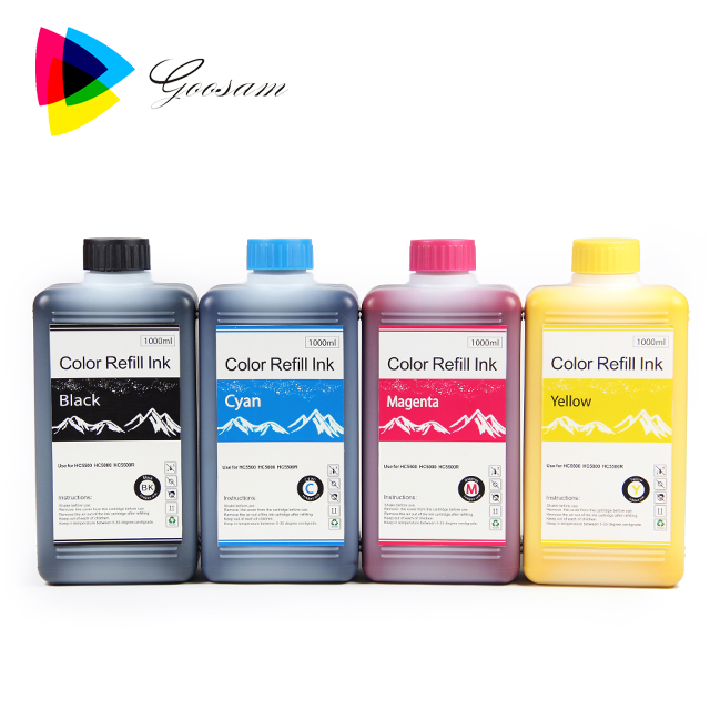 Oil Based Pigment ink for HC5500 Comcolor 7050 7150 9050 9150