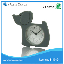 Dog shape alarm cartoon clocks for kids