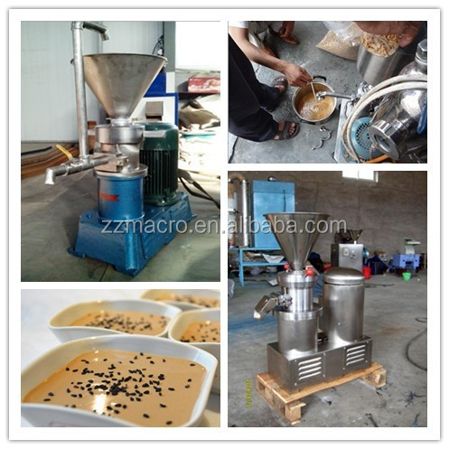 Peanut Butter Making Machine Tomato Paste Cocoa Bean Grinder Industrial Nut Grinder