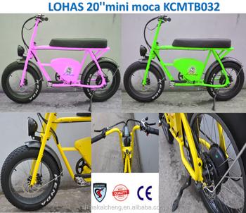 Lohas New European Design Fat Tire Electric Bike Electric Bike Kit