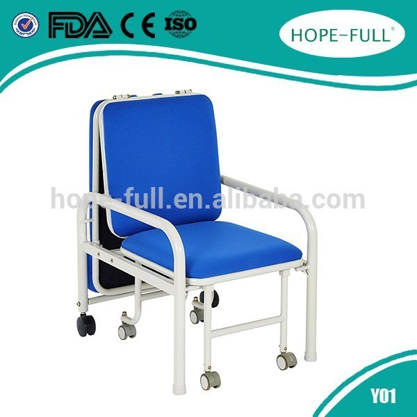 New Design folding chair sofa bed for Medical healthcare