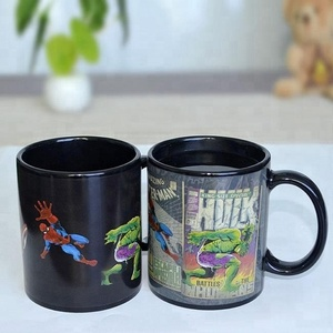 custom hot cold water heat sensitive color changing sublimation magic mug wholesale prices