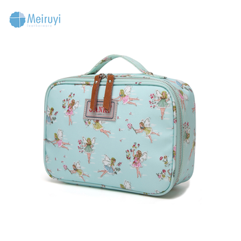 6c4d64e50af9 Wholesale Custom Polyester 210d Oilcloth Floral Make Up Travel Bags  Cosmetic Pouch Bag Cases For Ladies - Buy Cosmetic Bag