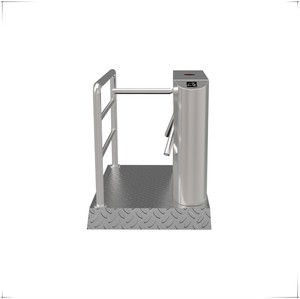 Portable Waist height stainless steel Three-roller Turnstile