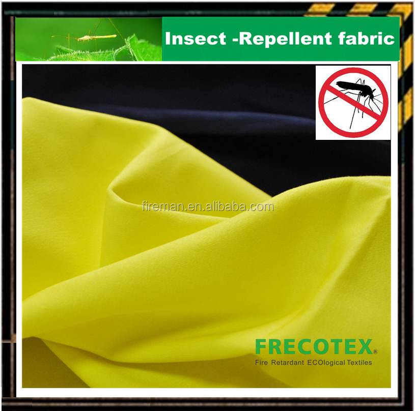 Insect & Bacteria protection 100 cotton anti mosquito fabric coverall passed AWTA TEST