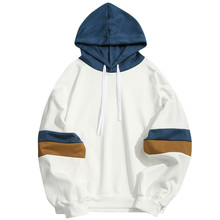 2019 <span class=keywords><strong>Hooded</strong></span> Sweater <span class=keywords><strong>Mannen</strong></span> Slim Fit Capuchon Lange Mouw Basic Hoodies Geen Zak