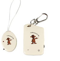 Electronic Anti Lost Personal Reminder Alarm Security +Keychain for Child Kid Pet Luggage personal safety anti lost alarm
