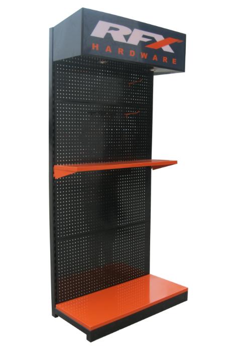 new design portable car battery display rack