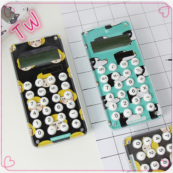 Trade assurance best-selling ABS 8 digit calculator scientific wholesale kawaii stationery price lists
