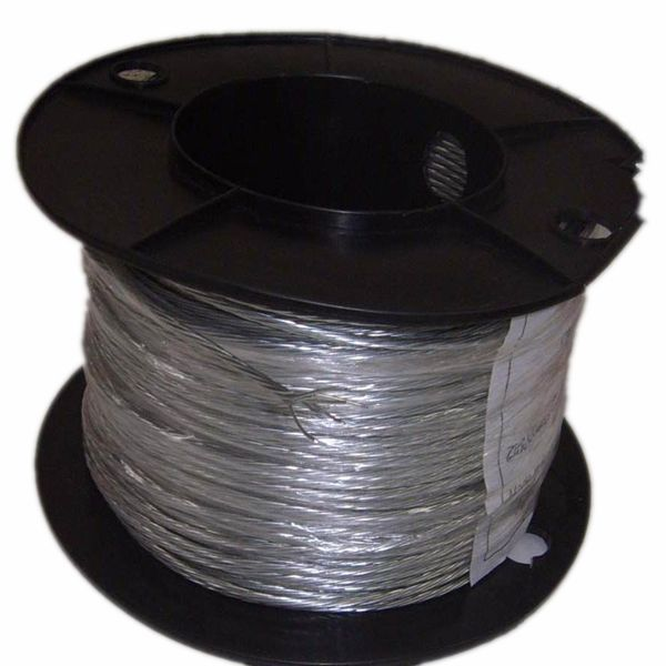 top quality steel wire rope for elevators 8x19+FC (SISAL CORE)ungalvanized steel cable
