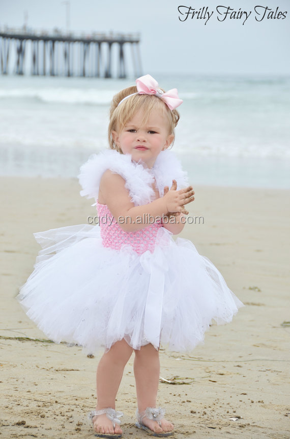 2014 Latest Cute Children Dress Design Baby 1 Year Old