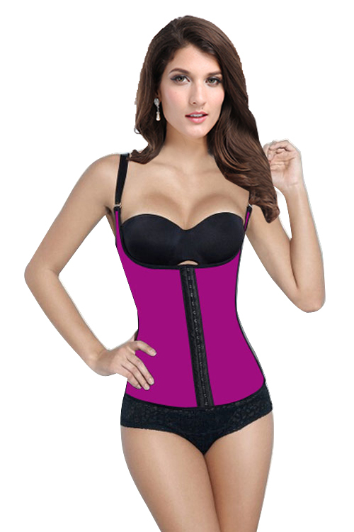Plus Size Waist Training Corset Steel Bones Corsets Latex Waist Cincher Sexy Gothic Bustiers Woman Corselet Latex Waist Trainer