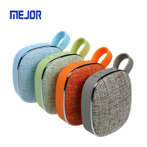 2019 Unique woven fabric cloth portable car speaker wireless Altavoces blue tooth line array speakers