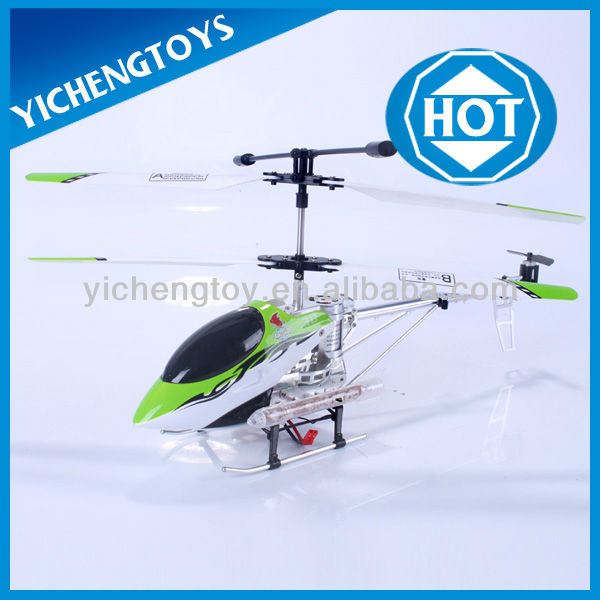 hot sale 3 channels model metal r c helicopter