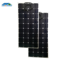 MC4 Compatible Connector flexible solar panel 100w for grid solar system