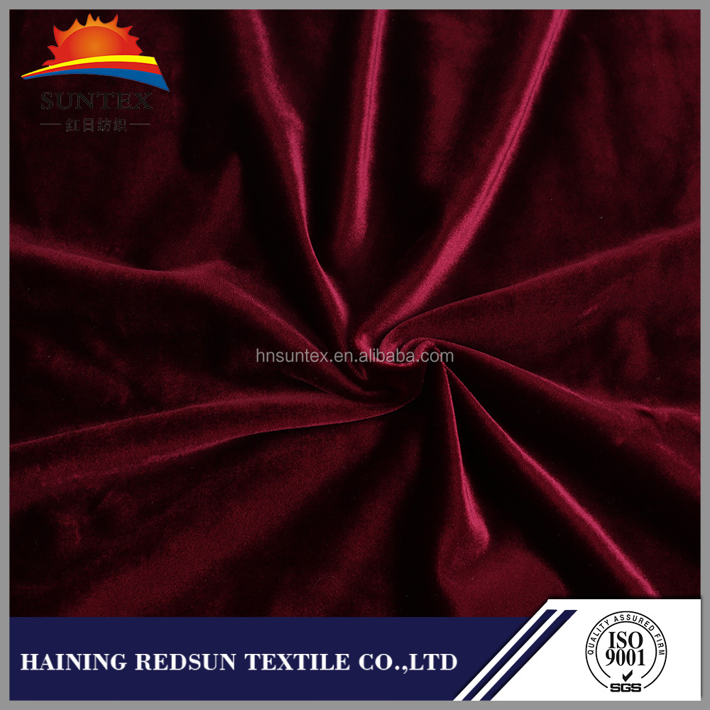 Haining City Textile Printed Burn Out Velvet Fabric