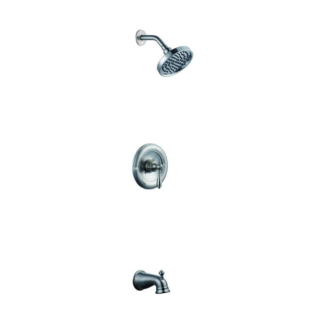 Buy Pegasus Exhibit Single Handle Tub and Shower Faucet Trim in ...