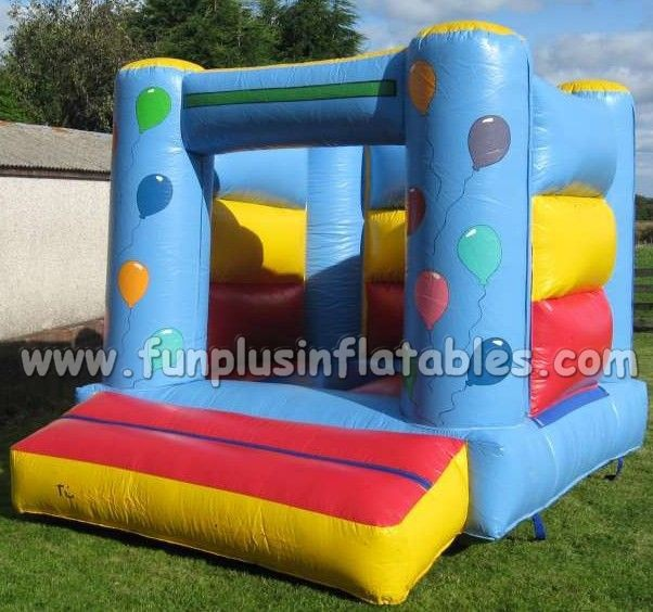 Cartoon painted inflatable bouncer/ inflatable jumper F1116
