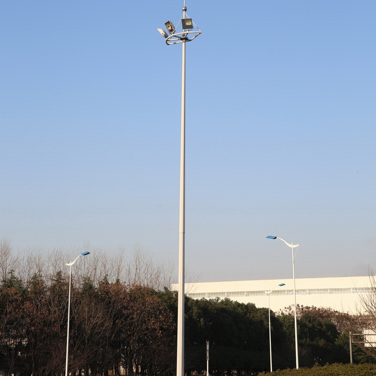 Square High Mast Lighting With Lifting System Buy High