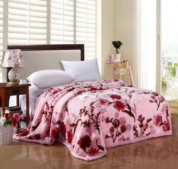 new design polyester elegant mora blanket korea quality 200 240cm