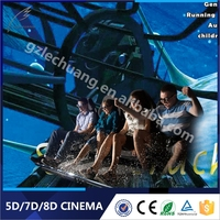 Eu Standard Hydraulic/Electronic Amusement Park Equipment 5D Projector Theater