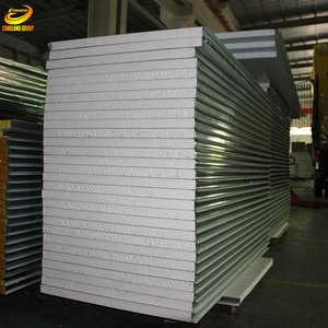 Corrugated roof insulation material eps composite board for sale
