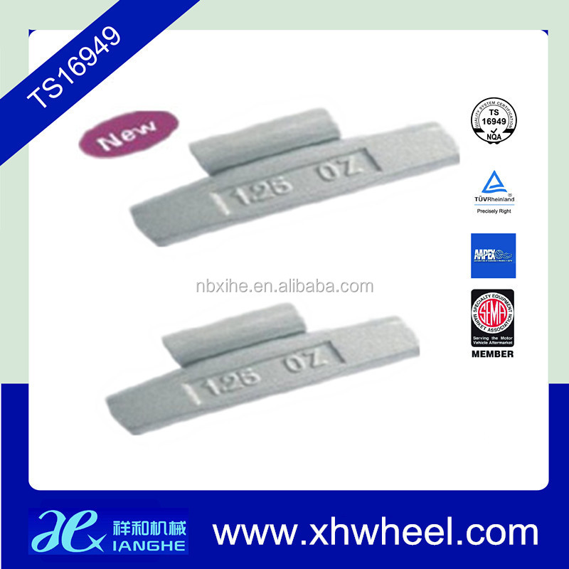 steel(fe) alloy wheels balancing weight