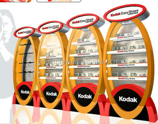 retail customized mobile phone kiosk decoration design