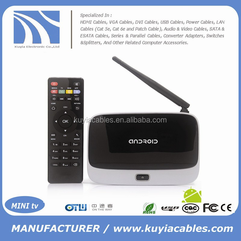 CS918 RK3188 Quad core Android 4.2. Mini TV BOX